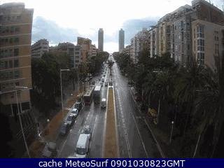 webcam Marina Pujades Barcelona