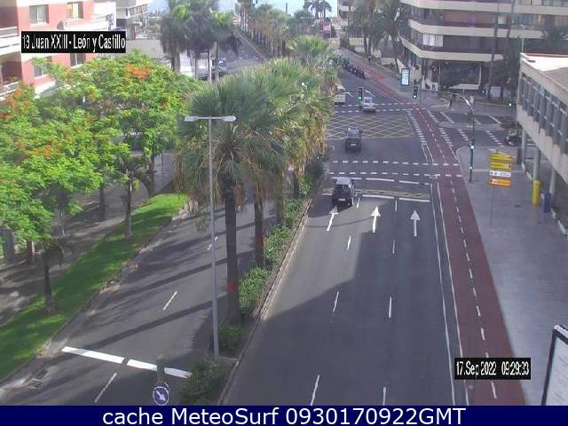 webcam Juan XXIII / León y Castillo Las Palmas