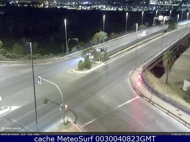 webcam Puente del Patrocinio SE30  Avda. de Carlos III Sevilla