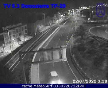 webcam Santa Cruz Somosierra Santa Cruz de Tenerife