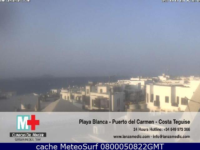 webcam Playa Blanca Las Palmas