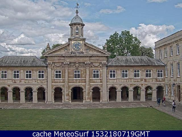 webcam Cambridge East of England