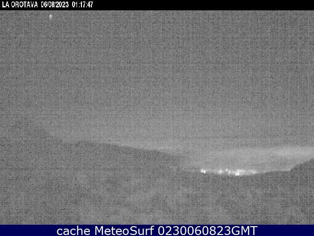webcam Teide Izaña Santa Cruz de Tenerife