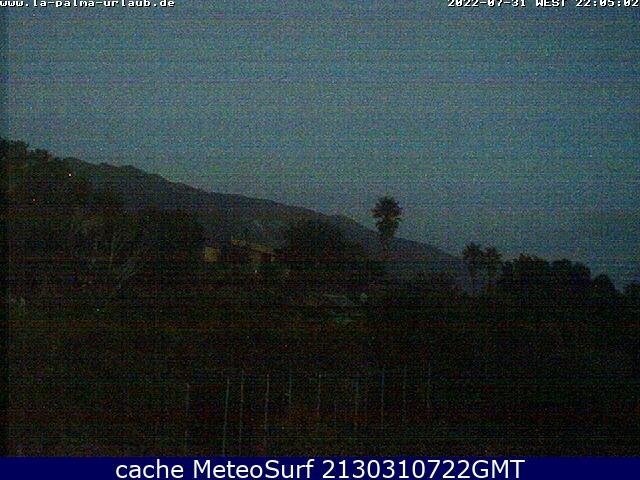 webcam El Paso Santa Cruz de Tenerife
