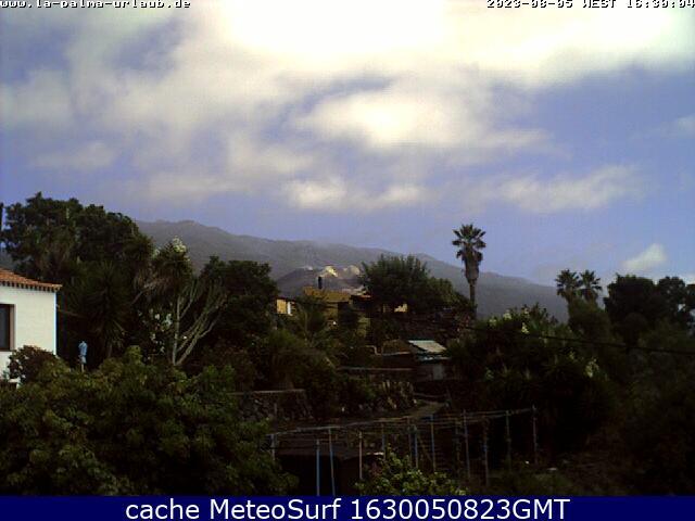 webcam El Paso Santa Cruz de Tenerife