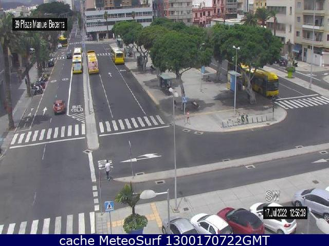 webcam Plaza Manuel Becerra Las Palmas
