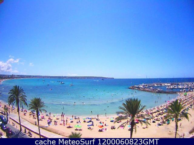 webcam Can Pastilla Palma de Mallorca Islas Baleares