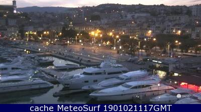 webcam Cannes Port Alpes Maritimes