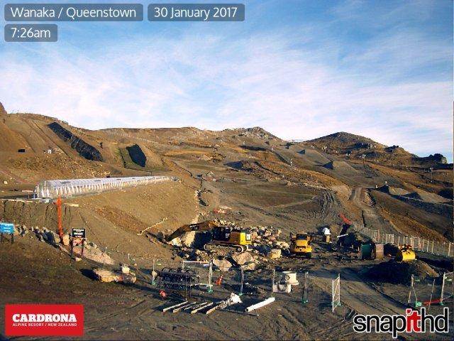 webcam Cardrona Queenstown-Lakes