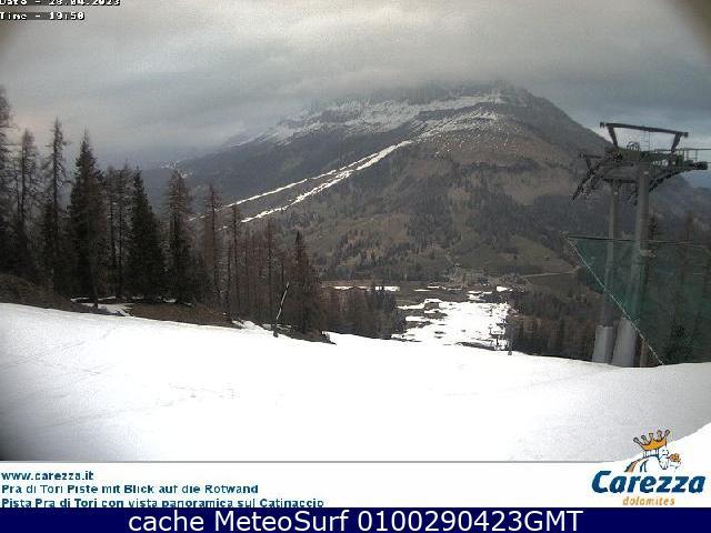 webcam Carezza Ski Bolzano