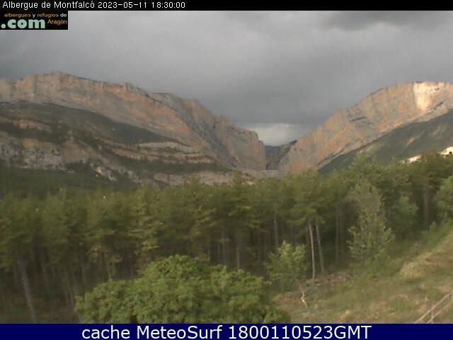 webcam Casa Batlle Montfalco Huesca