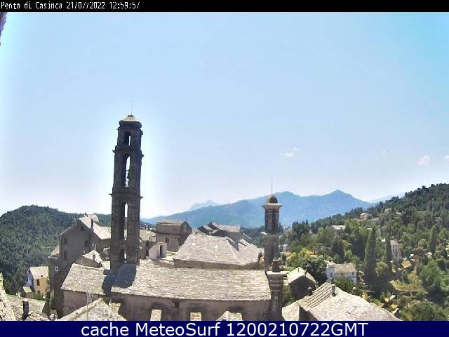 webcam Castagniccia Haute-Corse