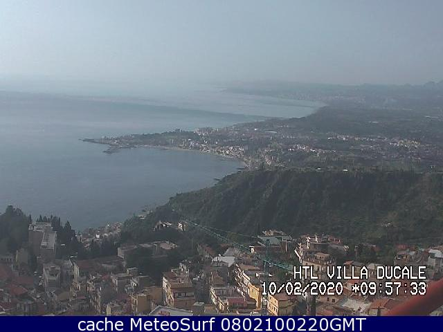 webcam Taormina Hotel Messina