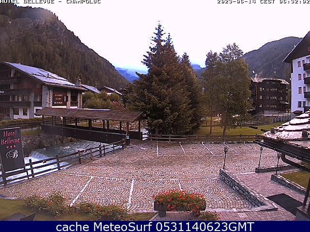 webcam Champoluc Hotel Valle d Aosta