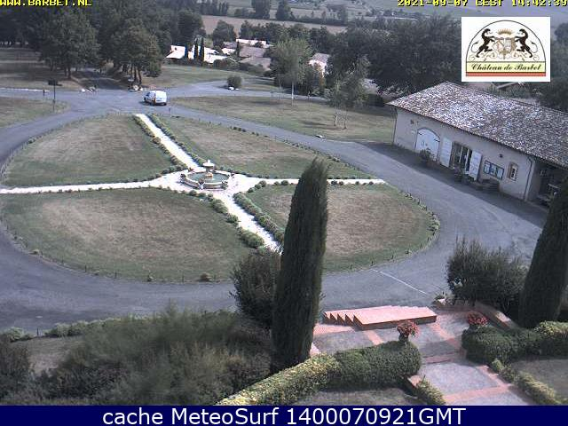 webcam Chateau de Barbet Gers