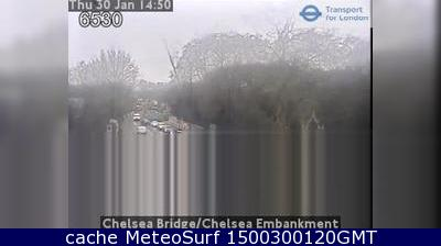 webcam Chelsea Bridge Londres