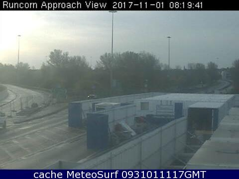 webcam Runcorn Bridge South West