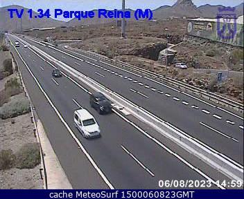 webcam Cho Parque Reina Santa Cruz de Tenerife