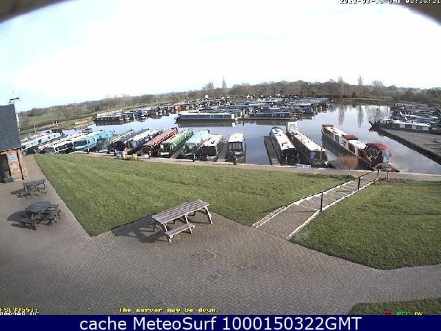 webcam Church Minshull Marina North West