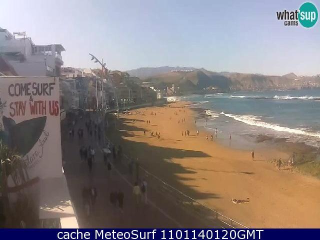 webcam La Cicer Las Canteras Las Palmas