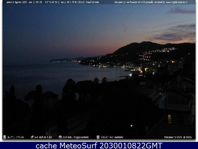 webcam Cogoleto Genova