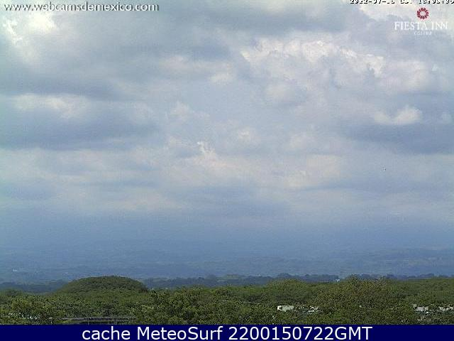 webcam Colima Volcán Colima