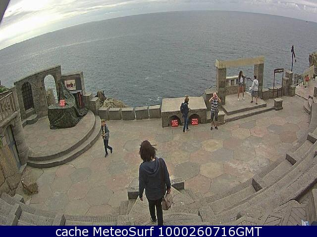 webcam Minack Theatre South West