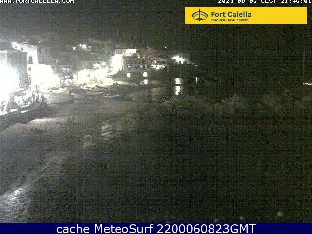webcam Calella de Palafrugell Gerona