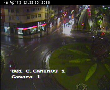 webcam Cuatro Caminos Santander Santander
