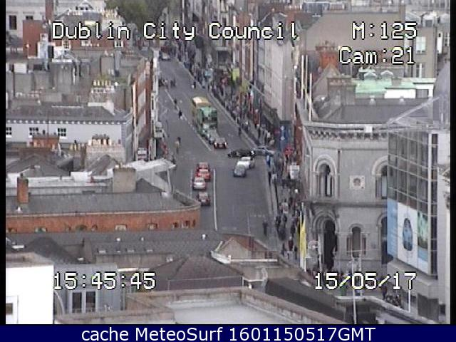 webcam Dame Street Dublin