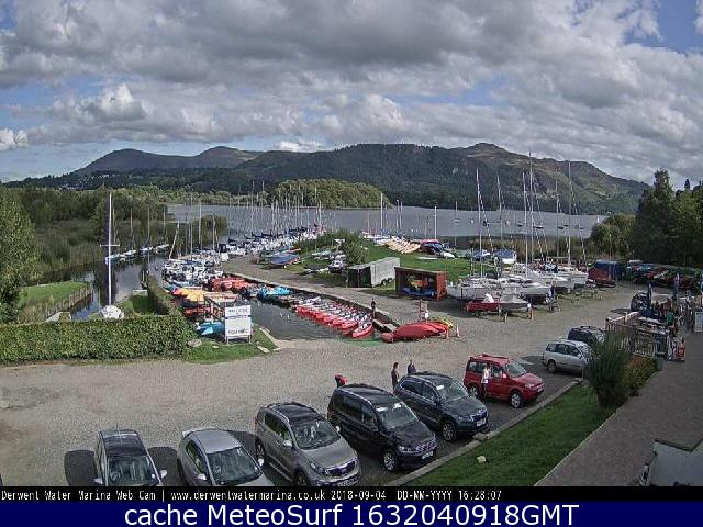 webcam Derwentwater North West
