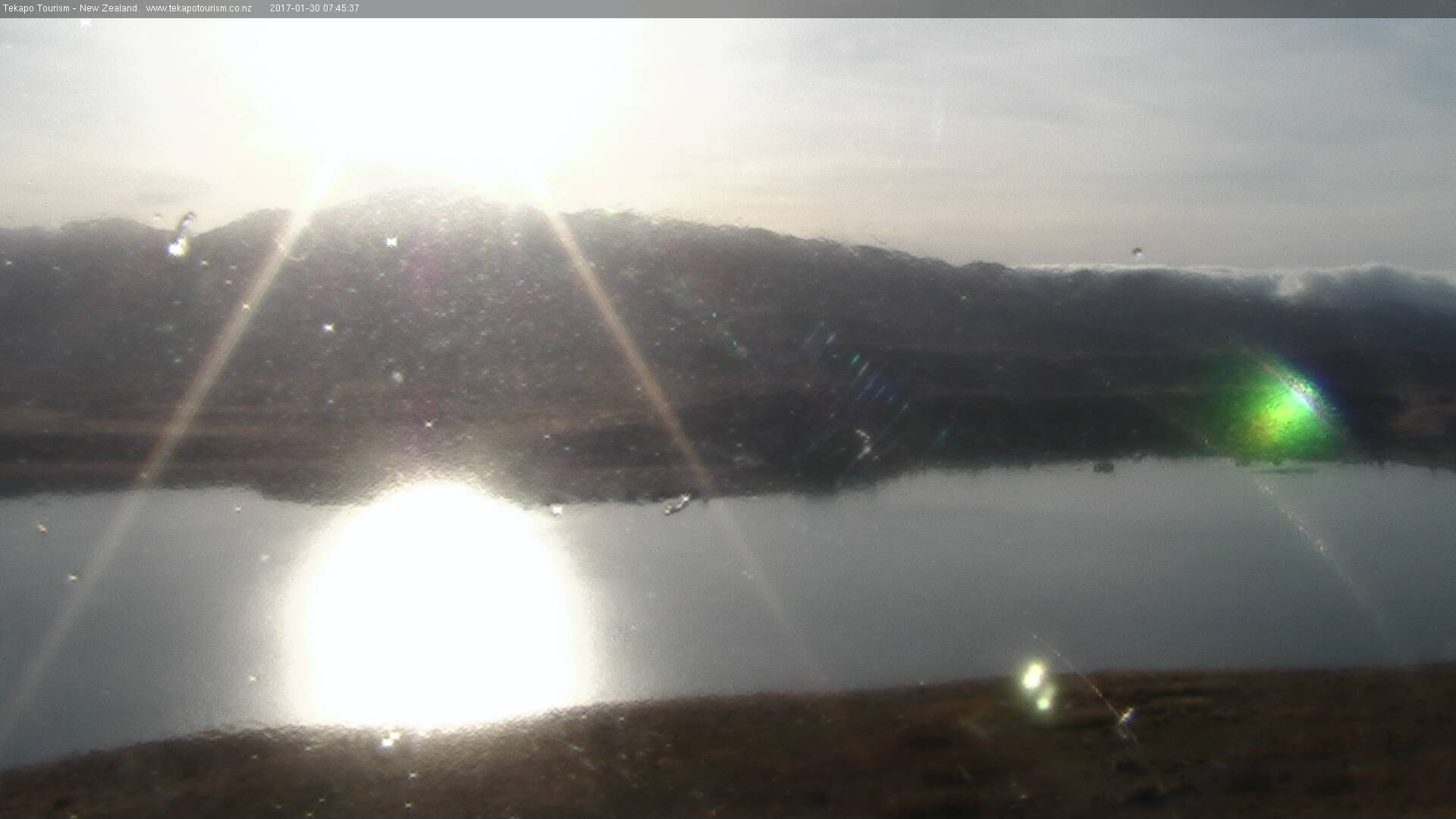 webcam Lake Tekapo E Tekapo