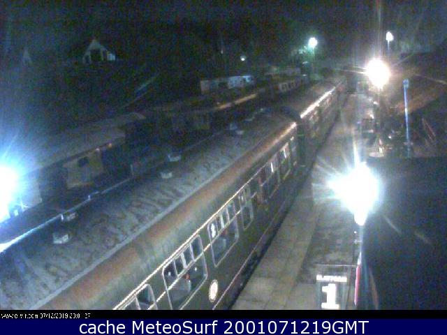 webcam Ecclesbourne Railway East Midlands