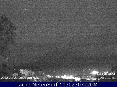 webcam Mt Egmont New Plymouth District