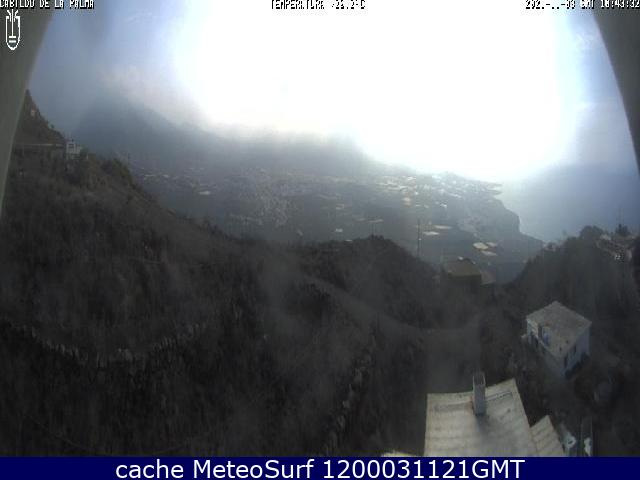 webcam El Time Tijarafe Santa Cruz de Tenerife