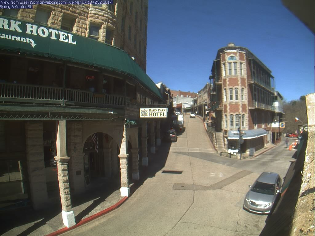 webcam Eureka Springs Carroll