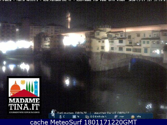 webcam Firenze Ponte Vecchio Firenze