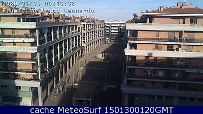webcam Fiumicino Roma