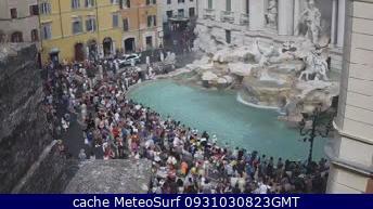 webcam Roma Fontana di Trevi Roma