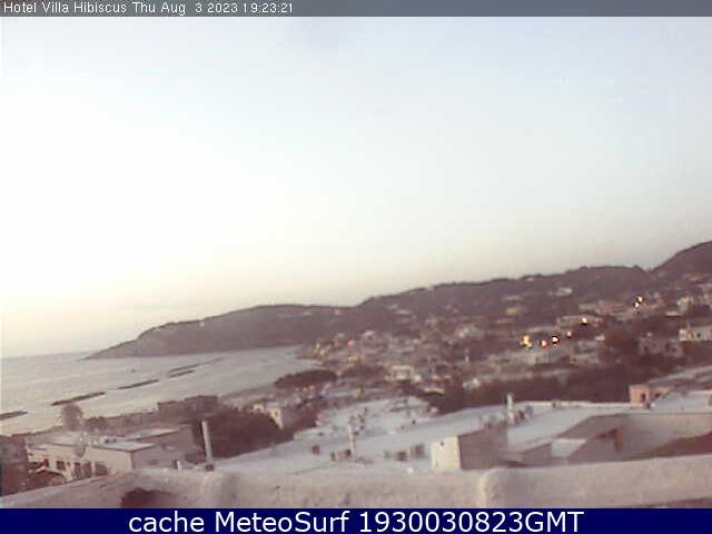 webcam Forio Nápoles