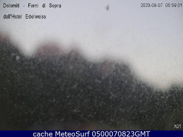 webcam Forni di Sopra Panoramica Udine