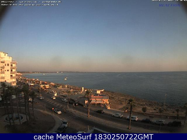 webcam Gallipoli SE Lecce