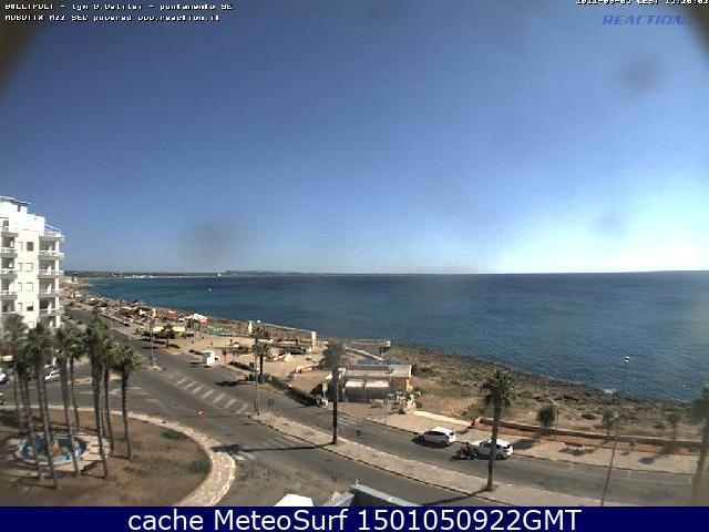 webcam Gallipoli SE Lecce