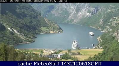 webcam Geirangerfjord M�re og Romsdal