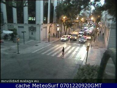 webcam Malaga Paseo Maritimo Malaga