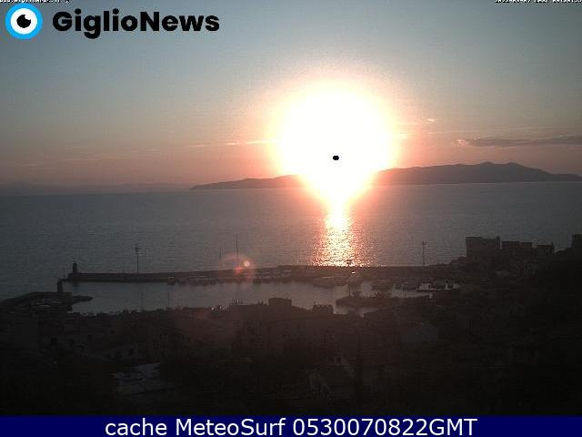 webcam Giglio Porto Grosseto