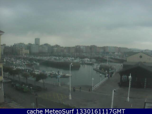 webcam Gijon Marina Asturias