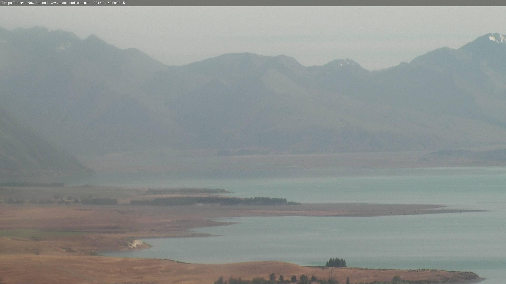 webcam Godley Valley Tekapo