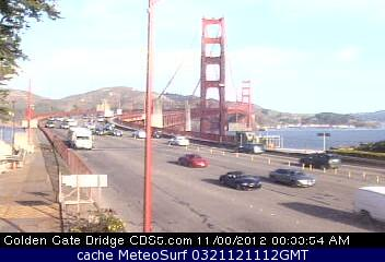 webcam Golden Gate Bridge San Francisco