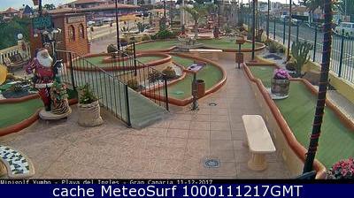 webcam Playa del Inglés Minigolf Las Palmas